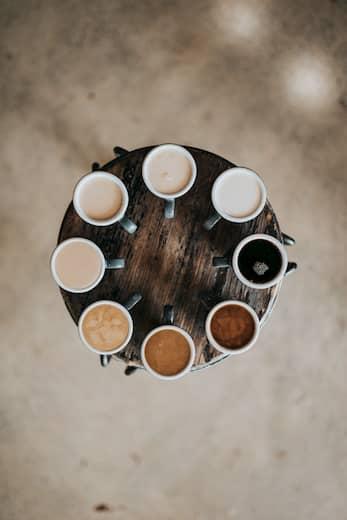 Distintas formas de preparar un café en hostelería