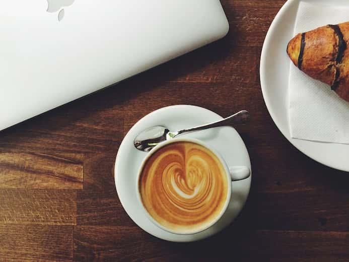 Foto de un café preparado con cariño