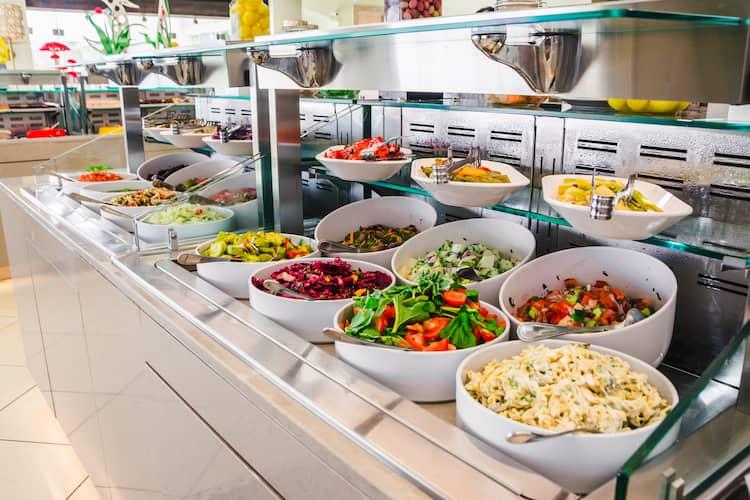 Cómo montar un buffet libre