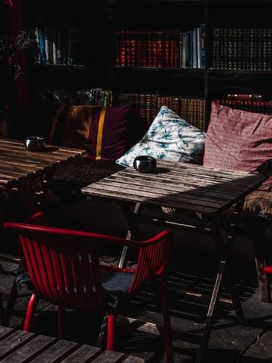 Cómo elaborar cojines para sillas de terraza