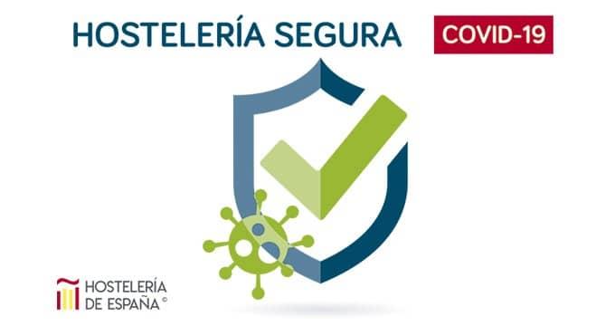 Logo certificado hostelería segura