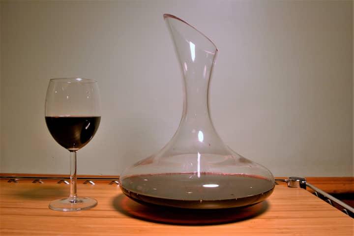decantador de vino para oxigenar